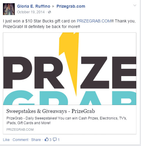 is prizegrab real