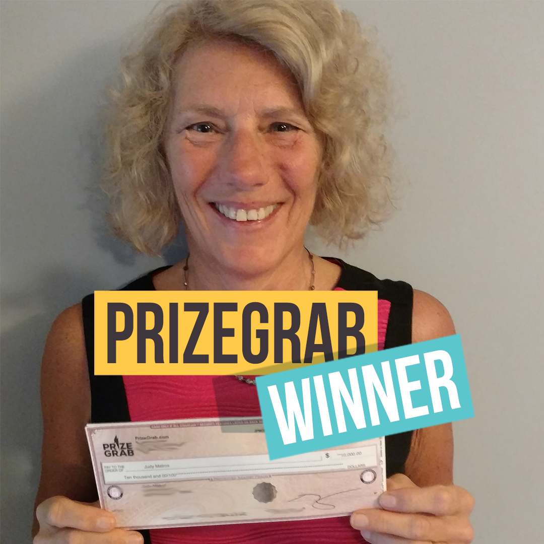 PrizeGrab com Blog - ANOTHER PrizeGrabber is $10,000 Richer!